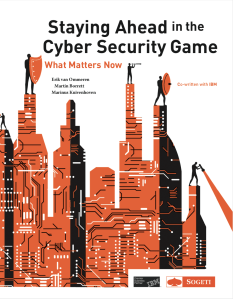 Staying Ahead in the Cyber Security Game - cover