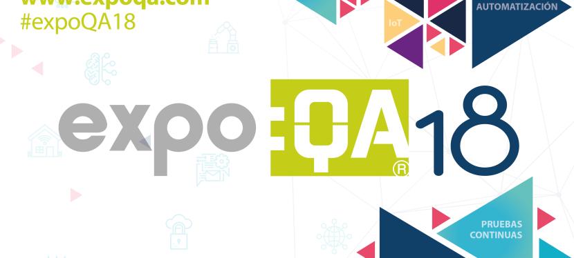 SOGETI, un año más patrocinador de Expo:QA18′