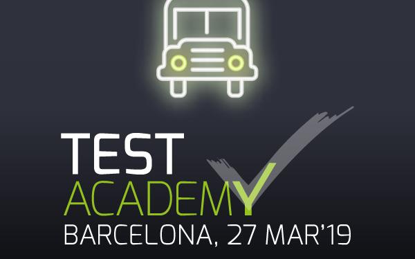 Próxima parada: Test AcademyBarcelona
